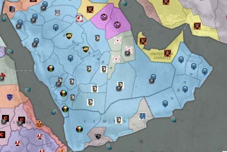 本周末蓝色联军基本统一阿拉伯半岛中南部