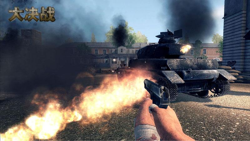 坦克步兵齐上阵