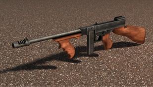 汤普森冲锋枪