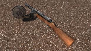 MP-18I式冲锋枪
