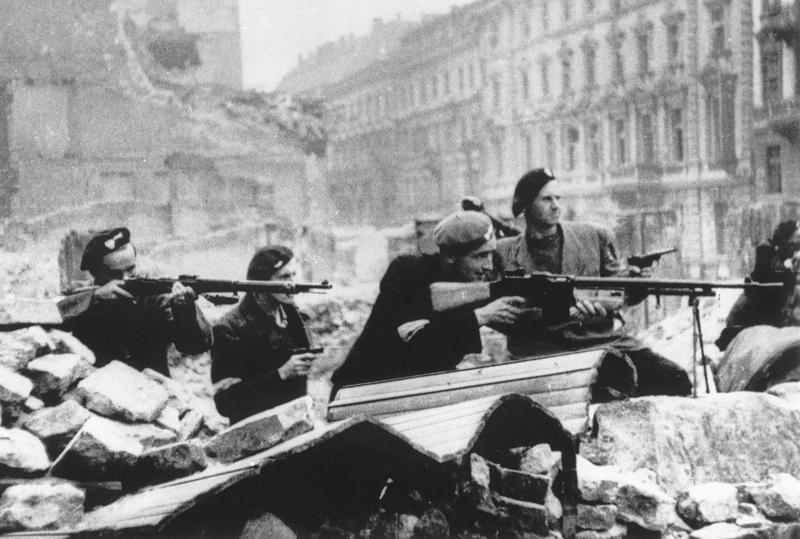 华沙人民起义