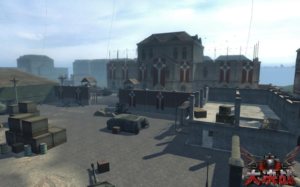 钢铁壁垒地图鸟瞰