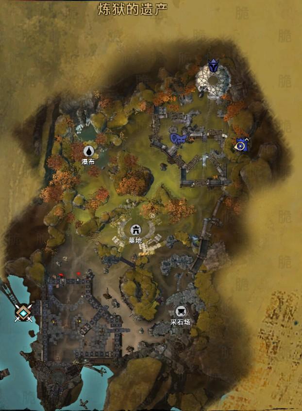传世道士炼狱22层地图