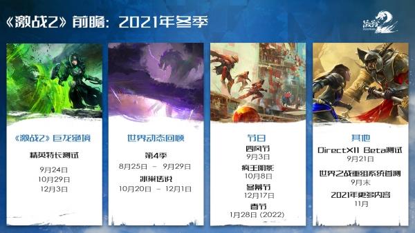 《激战2》前瞻:2021年冬季