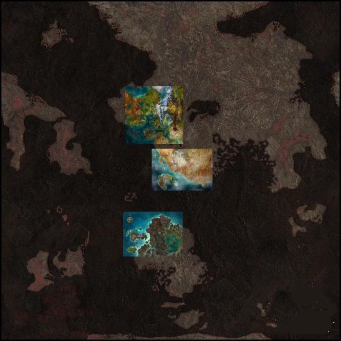 激战2罗纳通道地图