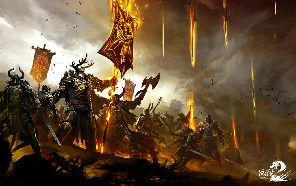 血火同燃的战场