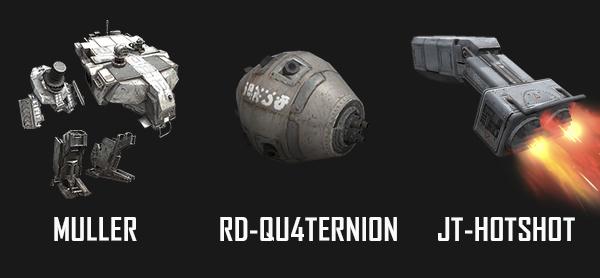 全新推出的机甲部件