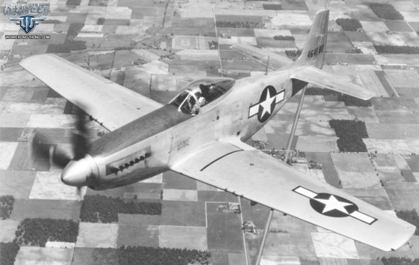 美国P-51战机