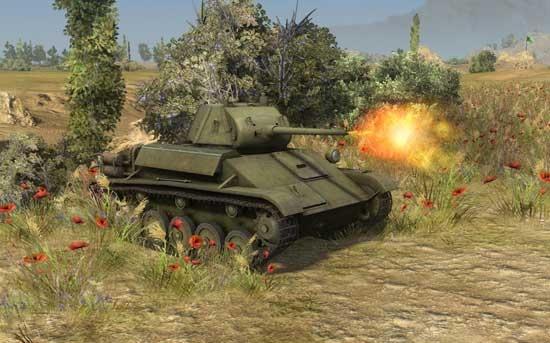 3级轻坦T-70