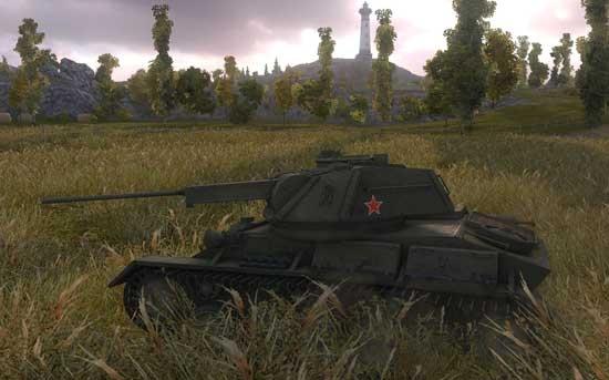 4级轻坦T-80