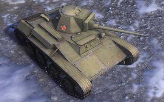 2级轻坦T-60