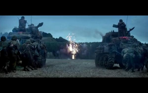 《坦克世界》与布拉德皮特主演电影《狂怒》开展跨界