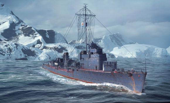 聊一聊《战舰世界》驱逐舰定位是什么