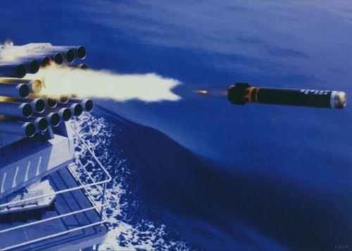 """英阿马岛战争中,阿军向英军特混舰队发射仅有的几枚"""""""