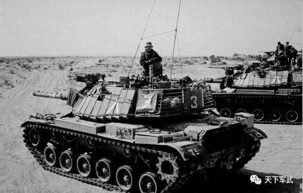 美制的M60系列主战坦克-它是S系10级中坦的 老大哥