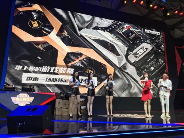 七彩虹(iGAME)为本届空中网CJ提供高端硬件支持,助力玩家现场酣畅对决