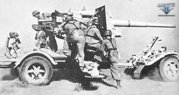 著名的德国88毫米高炮