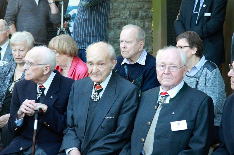 二战纳粹德国铁十字勋章获得者60周年年会重