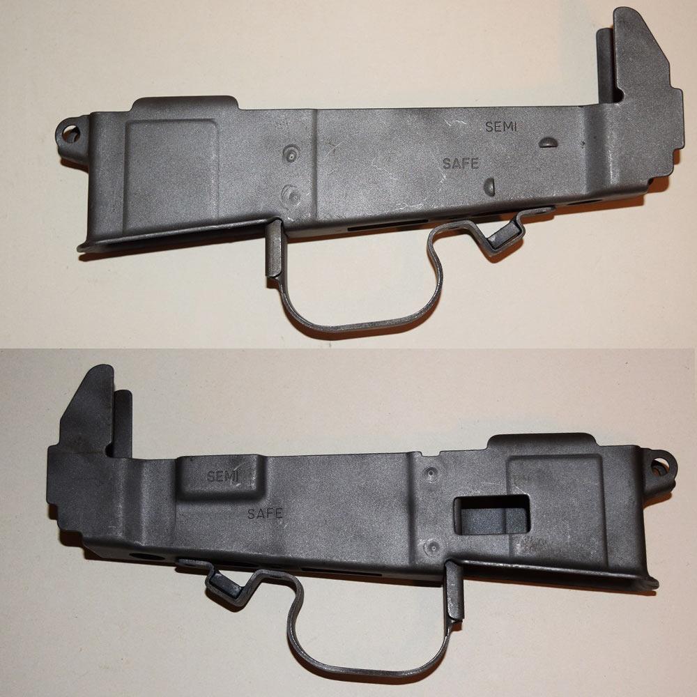 美国枪迷博客直播自制ar-180步枪机匣全过程