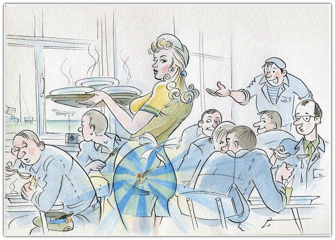女空军卡通图片