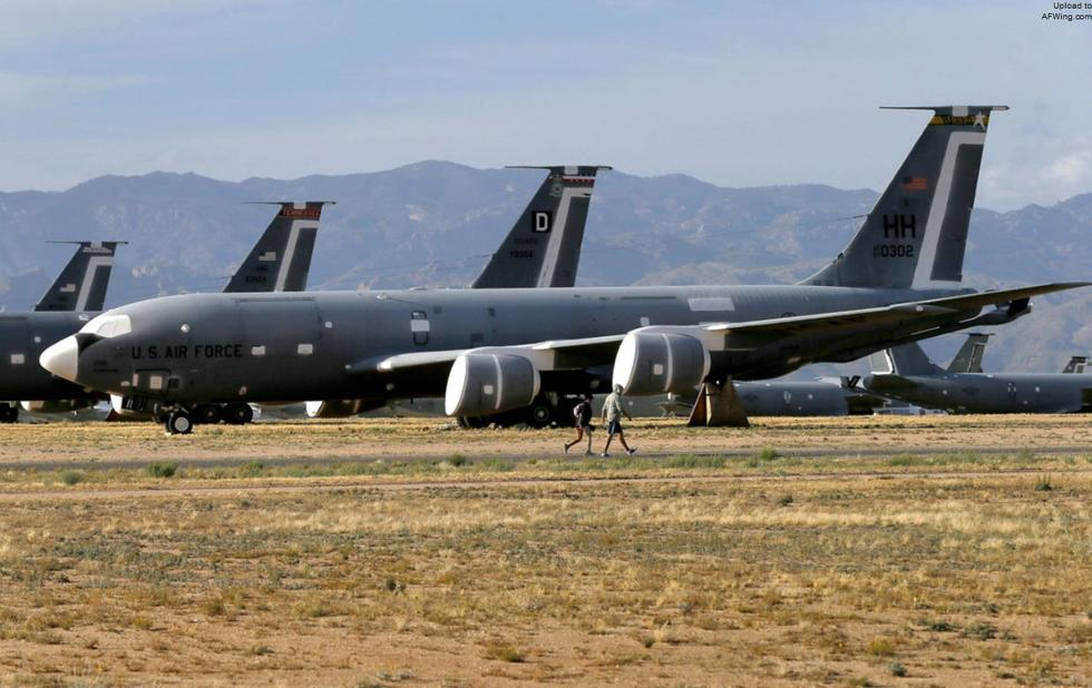 新视角看美军飞机坟场 工作有序并非死气沉沉