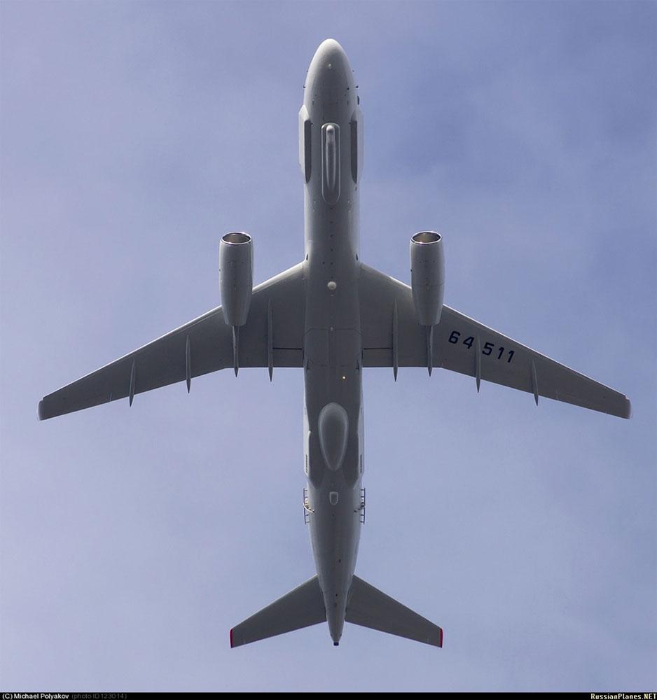 俄罗斯的通天眼 图-214r电子战飞机