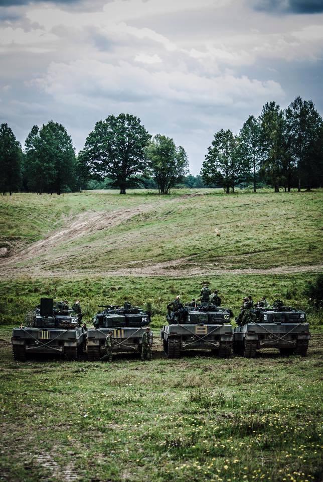 """斯堪的纳维亚半岛""""猫王"""" 瑞典strv-122坦克"""