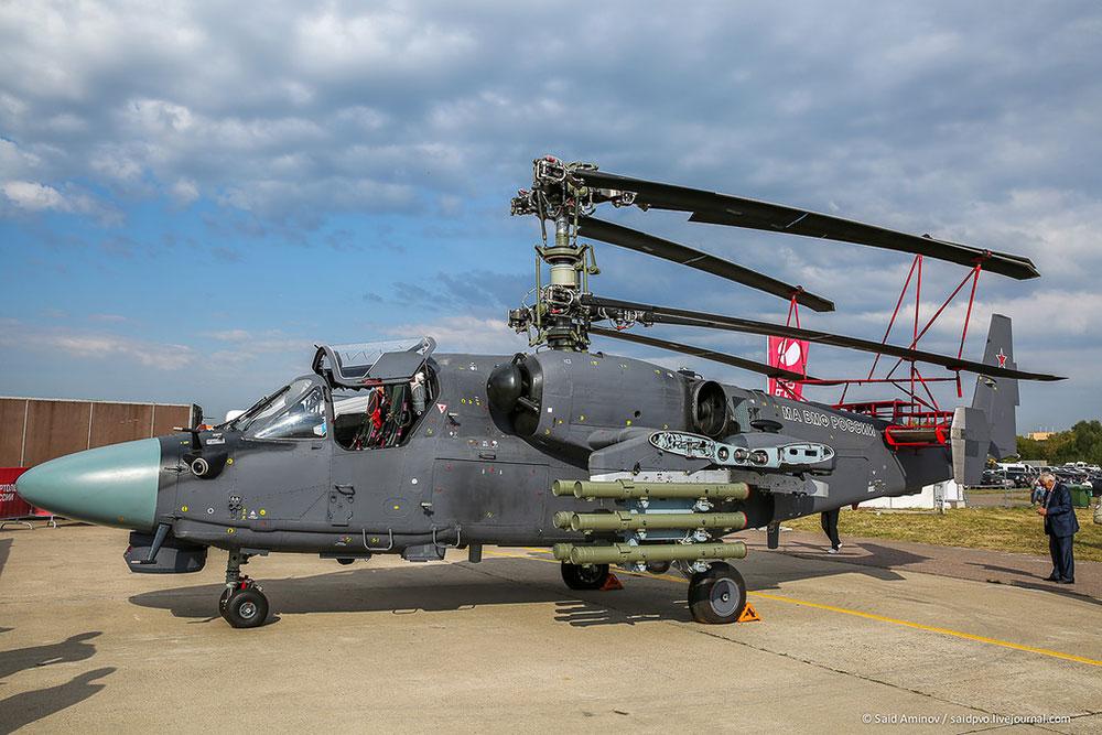 俄卡-52k武装直升机之新变化 航电系统升级