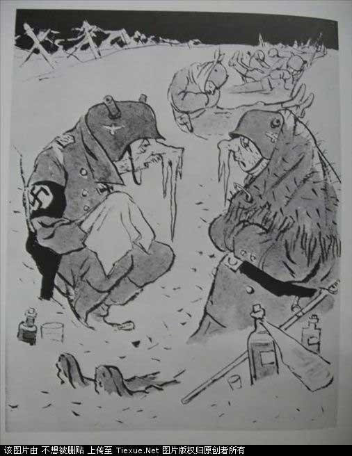 二战苏联反纳粹宣传画