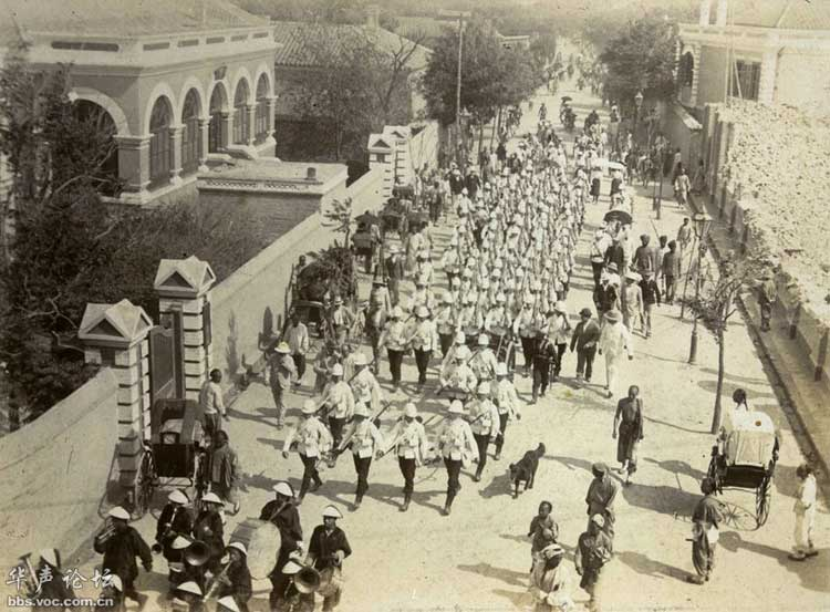 1900年八国联军在天津