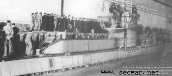 德国海狼--VIID型潜艇