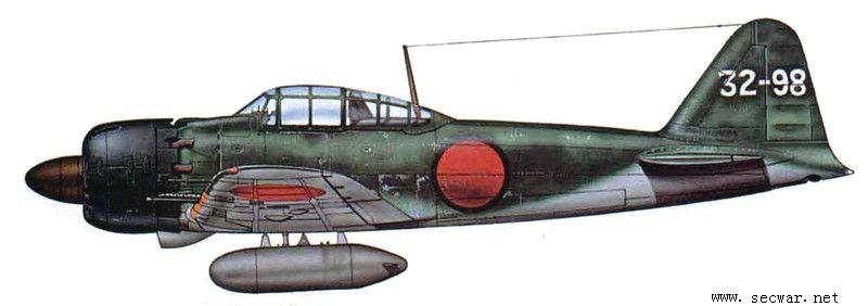 日本零式战斗机--日本空军的骄傲