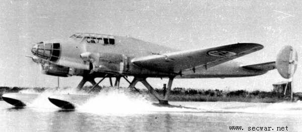 意大利crda坎特z.515水上飞机