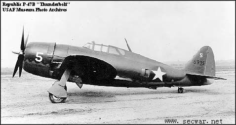 战后,共和飞机公司转入喷气式飞机的研制.