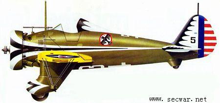 """波音p-26""""玩具枪""""战斗机"""