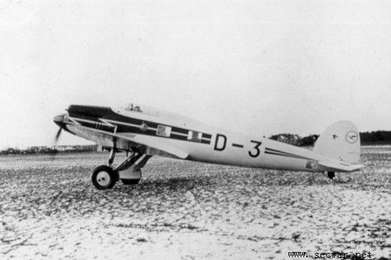 二战德国飞机---he112战斗机