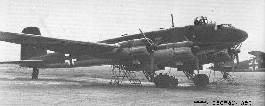 二战德国飞机--秃鹰侦察机