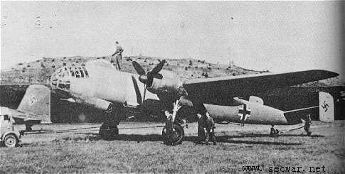 二战德国飞机--fw191轰炸机