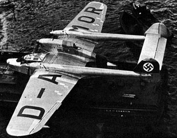 二战德国飞机--bv138水上侦察机