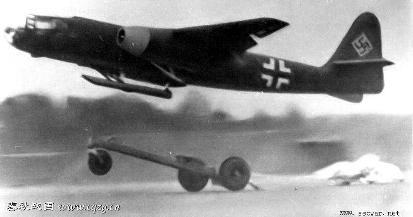 二战德国飞机--ar234轰炸机