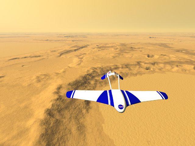 人类第一架火星探测飞机