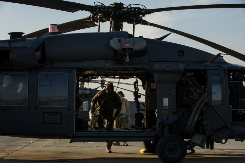 美国空军精锐远征军现身阿富汗