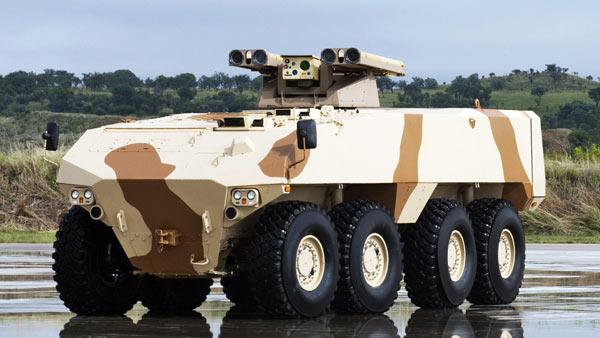 南非少壮派 rg-41轮式装甲车车族
