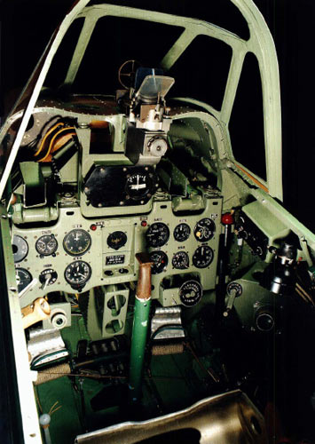 零式战斗机的座舱