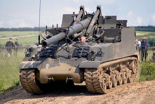 远程重炮手 美国m40 M43自行火炮 空中网军事频道