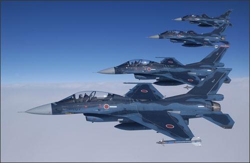 日本航空自卫队是一支空中与空防力量合一的部队