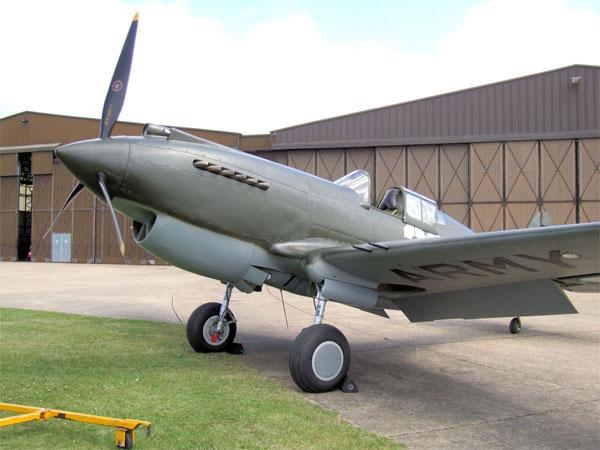 """""""飞虎队""""的致命武器 p-40战斗机"""