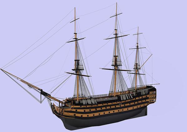船 轮船 模型 600_424