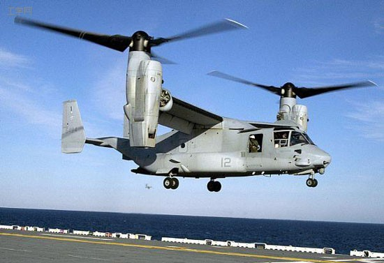 """v-22""""鱼鹰""""飞机过高的伤亡率"""