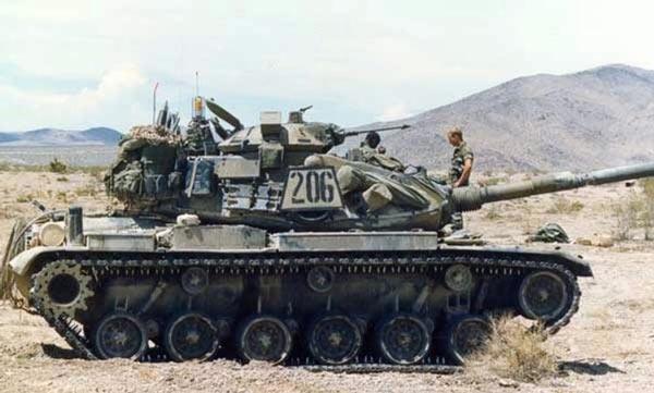 美国M60系列主战坦克的现状及演变